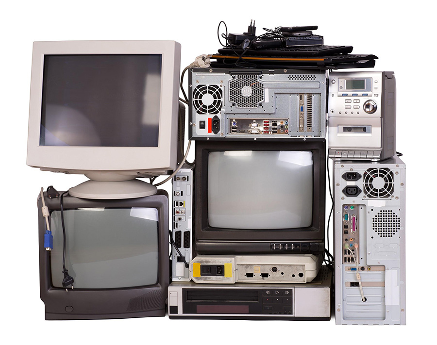 Almost all old electronics and their accessories can be recycled