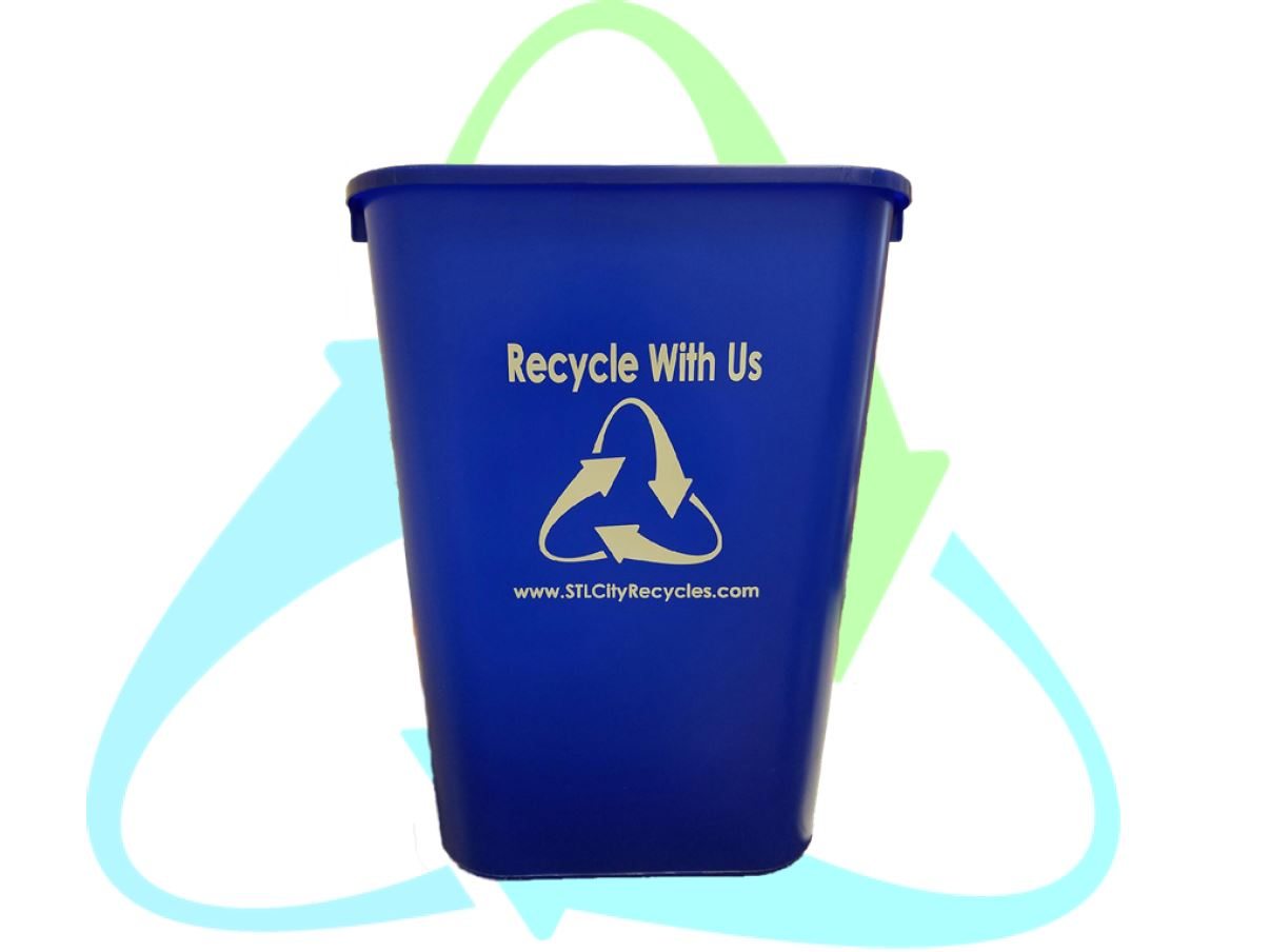 get your in home recycling bin saint louis city recycles